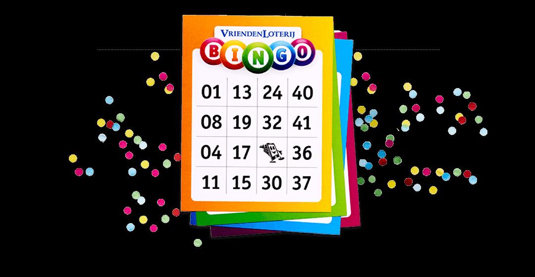 Bingo spelen bij de Vriendenloterij